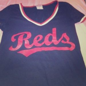 Pink reds shirt